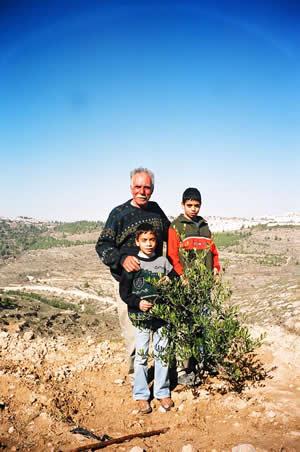 パレスチナ YWCA支援チャリティーポストカード